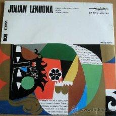 Discos de vinilo: JULIAN LEKUONA / ERREGE BALTAXARREN BALADA // EDITADO POR HERRI GOGOA. Lote 35366621