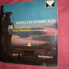 Discos de vinilo: FRANK CHACKSFIELD Y SU ORQUESTA LP - SERENATAS INMORTALES - ORIGINAL ESPAÑOL, DECCA 1959. Lote 32119753