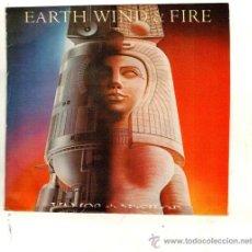Discos de vinilo: UXV EARTH WIND & FIRE SINGLE PROMO 1981 LETS GROOVE VAMOS A VACILAR 4 HOJAS EXTRAS FUNK SOUL DISC. Lote 32255487