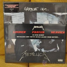 Discos de vinilo: METALLICA - GARAGE INC. (6 X LP'S BOX DELUXE EDITION / 45 RPM). Lote 32124254