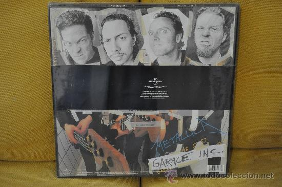 Discos de vinilo: METALLICA - Garage Inc. (6 x Lp's BOX Deluxe Edition / 45 RPM) - Foto 2 - 32124254