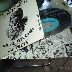 Discos de vinilo: FRANCESC PI DE LA SERRA SÓC EL MILLOR FOLK NOVA CANCÓ CATALAN MINT SPAIN DISCOPHON. Lote 32129169