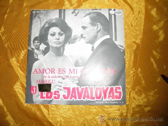 LOS JAVALOYAS. AMOR ES MI CANCION / MARILU. LA VOZ DE SU AMO 1967. IMPECABLE (Música - Discos - Singles Vinilo - Grupos Españoles 50 y 60)