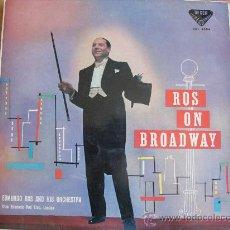 Discos de vinilo: LP - EDMUNDO ROS AND HIS ORCHESTRA - ROS ON BROADWAY - ORIGINAL ESPAÑOL, DECCA 1959. Lote 32134403