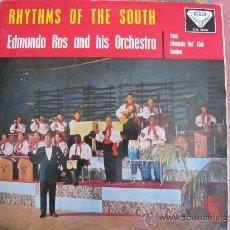 Discos de vinilo: LP - EDMUNDO ROS AND HIS ORCHESTRA - RHYTHM OF THE SOUTH - ORIGINAL ESPAÑOL, DECCA 1958. Lote 32134420