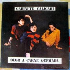 Discos de vinilo: GABINETE CALIGARI - OLOR A SANGRE QUEMADA - COMO PERDIMOS BERLIN - TRES CIPRESES 1982 . Lote 32135312