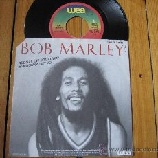 Disques de vinyle: BOB MARLEY `REGGAE ON BROADWAY` SINGLE. Lote 31808441