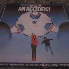 Discos de vinilo: B.S.O. THEY CALL IT AN ACCIDENT - U2,STEVE WINWOOD,MARIANNE FAITHFULL & MORE.. Lote 32138783