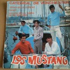 Discos de vinilo: LOS MUSTANG CATEDRAL DE WINCHESTER - 1967 - EP. Lote 32147690