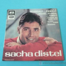 Discos de vinilo: SACHA DISTEL. EMI. Lote 32183218
