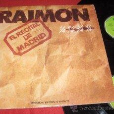 Disques de vinyle: RAIMON MADRID 76 2LP 1976 MOVIEPLAY ED ESPAÑOLA. Lote 32154185