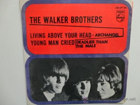 THE WALKER BROTHERS DEADLIER THAN THE MALE +3. EP ESPAÑOL. 1967. (Música - Discos de Vinilo - EPs - Pop - Rock Internacional de los 50 y 60)