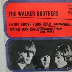 Discos de vinilo: THE WALKER BROTHERS DEADLIER THAN THE MALE +3. EP ESPAÑOL. 1967.. Lote 32165582
