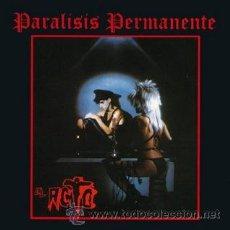 Discos de vinilo: LP PARALISIS PERMANENTE EL ACTO SPANISH POST PUNK GOTH MOVIDA PEGAMOIDE ALASKA VINILO. Lote 53015366