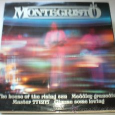 Discos de vinilo: MONTECRISTO, MAXI EP 4 TEMAS, THE HOUSE THE RISING SUN+3, RCA 1978 SEMINUEVO MUY RARO. Lote 32169144