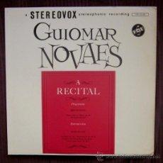 Discos de vinilo: GUIOMAR NOVAES - BEETHOVEN, SCHUMANN - EDITADO EN USA - EXCELENTE ESTADO. Lote 32172095