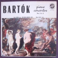 Discos de vinilo: BELA BARTÓK - PIANO CONCERTOS 2 Y 3 - GYÖRGY SÁNDOR - EDITADO EN USA - 1959. Lote 32178423