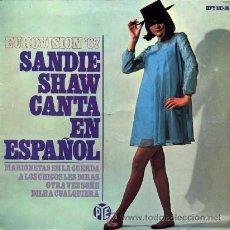Discos de vinilo: SANDIE SHAW ··· MARIONETAS EN LA CUERDA (+ 3) - (EP 45 RPM) ··· CANTA EN ESPAÑOL. Lote 32185379