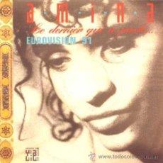 Discos de vinilo: AMINA ··· LE DERNIER QUI A PARLE / NEILA - (SINGLE 45 RPM). Lote 32186044