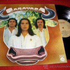 Discos de vinilo: CARAVACA LP 1978 NOVOLA PROMOCIONAL GATEFOLD PORTADA ABIERTA EXCELENTE ESTADO. Lote 32188423