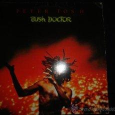 Discos de vinilo: PETER TOSH LP BUSH DOCTOR. Lote 32189393