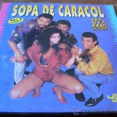 Discos de vinilo: SOCA FACTORY - SOPA DE CARACOL LP . Lote 32191823