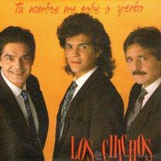 """Discos de vinilo: LOS CHICHOS - SINGLE PROMO 7"""" - TU NOMBRE ME SABE A YERBA (SERRAT ) + POR SER GITANO - PHILIPS 1991. Lote 114753094"""