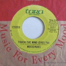 Discos de vinilo: MOCEDADES - ERES TU(TOUCH THE WIND) CANTADO EN INGLES- SINGLE USA TARA RECORDS. Lote 57199588