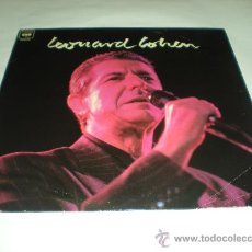 Discos de vinilo: LEONARD COHEN_VINILO LP PROMOCIONAL CBS EDICION ESPAÑOLA_1989. Lote 32202189