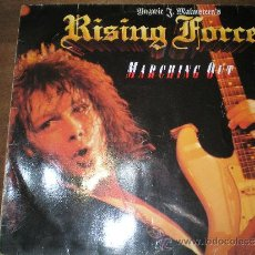 Discos de vinilo: YNGWIE MALMSTEEN'S RISING FORCE - MARCHING OUT. VINILO. Lote 32210279