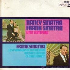Discos de vinilo: NANCY SINATRA + FRANK SINATRA-UNA TONTERIA + LOS PARAGUAS DE CHERBURGO + DOCTOR ZHIVAGO +. Lote 32212752