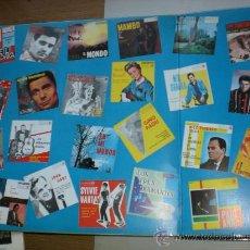 Discos de vinilo: 30 EXITOS AÑOS 60 2 LPS NUEVO SAM COOK NEIL SEDAKA, PAUL ANKA SYLVIE VARTAN TITULOS FOTOS ADJUNTAS. Lote 32216548