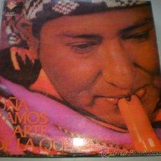 Discos de vinilo: UÑA RAMOS, EL ARTE DE LA QUENA, MUSICA ANDINA.DEL PERU LP . Lote 32217783
