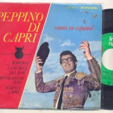 Discos de vinilo: PEPPINO DI CAPRI: ROBERTA + LA RUBIA DEL BAR + BOOM BOOM SURF +1 (EN ESPAÑOL). Lote 32223565
