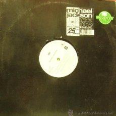 Discos de vinilo: MICHAEL JACKSON-BLACI OR WHITE MAXI SINGLE SIN PORTADA 1991 (HOLLAND). Lote 32225331