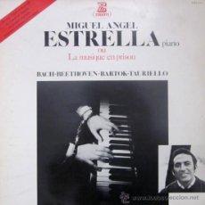 Discos de vinilo: MIGUEL ÁNGEL ESTRELLA - LA MUSIQUE EN PRISION - BACH, BEETHOVEN, BARTOK, TAURIELLO - 1979 . Lote 32237542