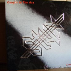 Discos de vinilo: STYX ---- CAUGHT IN THE ACT . Lote 32243491