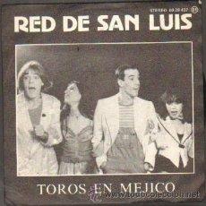 Discos de vinilo: RED DE SAN LUIS TOROS EN MEJICO / JONATHAN RF-5694. Lote 32244086