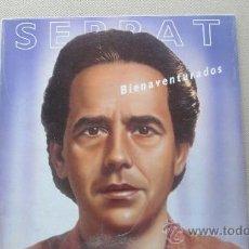Discos de vinilo: SERRAT - BIENAVENTURADOS. Lote 32244750