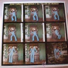 Discos de vinilo: JUAN CARLOS CALDERON Y SU TALLER DE MUSICA, 1974, NUEVO. Lote 41182598