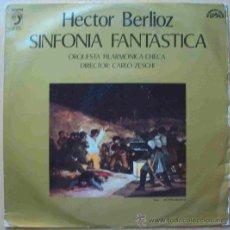 Discos de vinilo: DISCOS (HECTOR BERLIOZ) SINFONIA FANTASTICA. Lote 32246932