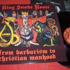 Discos de vinilo: KING SNAKE ROOST 1987 MEGADISC HOLANDA NOISE INDIE. Lote 32248558