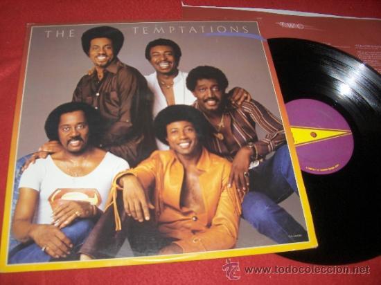 THE TEMPTATIONS LP 1981 GORDY USA (Música - Discos - LP Vinilo - Funk, Soul y Black Music)