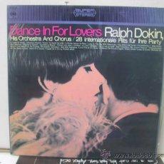 Discos de vinilo: RALPH DOKIN - DANCE IN FOR LOVERS - EDICION ESPAÑOLA - CBS 1968. Lote 58434189