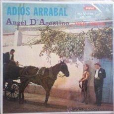 Discos de vinilo: LP ARGENTINO DE D´AGOSTINO / VARGAS AÑO 1962 ORIGINAL. Lote 26514227