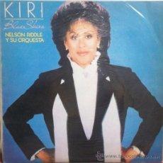 Discos de vinilo: LP ARGENTINO DE KIRI TE KANAWA AÑO 1985. Lote 27455608