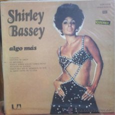 Discos de vinilo: LP ARGENTINO DE SHIRLEY BASSEY AÑO 1971. Lote 27481876