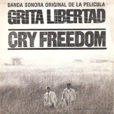 Discos de vinilo: CRY FREEDOM (GRITA LIBERTAD-BANDA SONORA ORIGINAL) - SINGLE PROMOCIONAL ESPAÑOL DE 1988. Lote 32260366