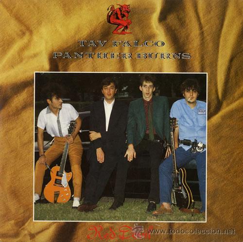 TAV FALCO PANTHER BURNS - RED DEVIL - NEW ROSE 10 PULGADAS - UN SOLO USO - IMPECABLE (Música - Discos - LP Vinilo - Rock & Roll)