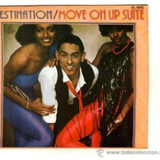 Dischi in vinile: UXV DESTINATION SINGLE 1979 MOVE ON UP SUITE / THE BEGINNING ELECTRONICO DISCO HOJA EXTRA PUBLICIDAD. Lote 45619034